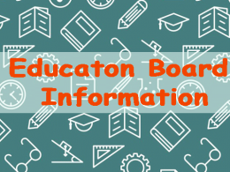 Education Board Information BD
