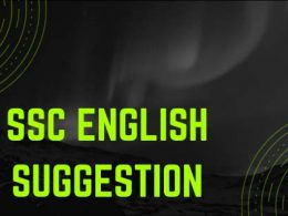 SSC English Suggestion