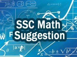 SSC Math Suggestion pdf